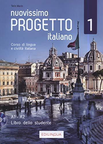 Nuovissimo progetto italiano 1 libro dello studente +dvd