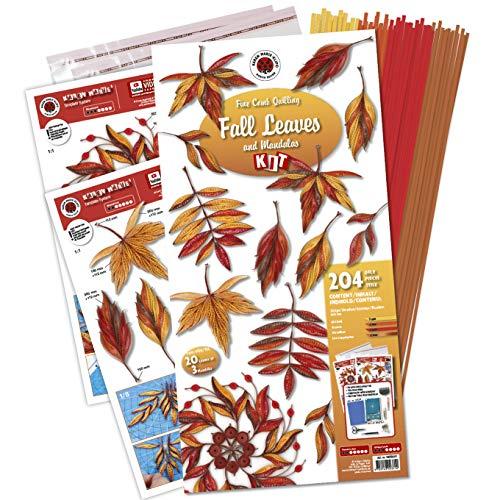 Karen Marie's Fall Leaves and Mandalas Quilling Kit