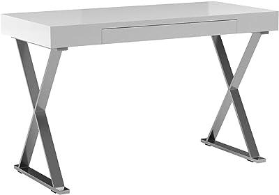 Table dordinateur Portable Bureau dordinateur Table dordinateur Table PC avec extrait de Clavier FineBuy Table de Bureau 94 x 90 x 48 cm Ch/êne Sonoma Table de Bureau pour Ordinateur