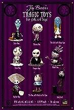 51115 Tim Burton's Tragic Toys Movie Decor Wall 24x18 Poster Print
