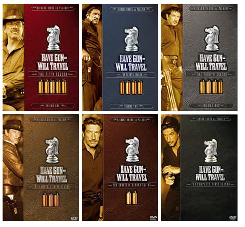 Have Gun Will Travel: The Complete Seasons 1,2,3,4 & 5.1 Series [DVD]