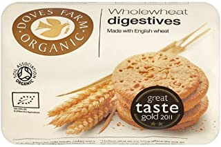 (2 Pack) - Doves Farm - Organic Digestive Biscuits DF-DIG200 | 200g | 2 PACK BUNDLE