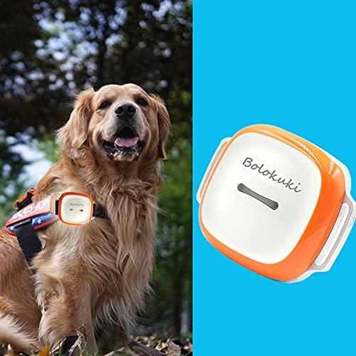 Bolokuki Traceur GPS Chien pour Collier Chien, Pet Dog GPS Tracker, Ne Perdez Plus Votre Chien, Suivi GPS et d'Activité 24h/7