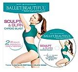 Ballet Beautiful Ballet Workout DVD - Sculpt & Burn Cardio Blast. Mary Helen Bowers Barre Dance Inspired Fitness DVD