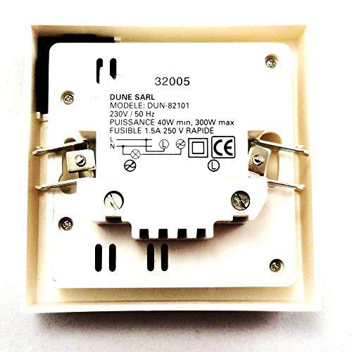 Dyntronic GmbH 300W UP Dimmer mit Infrarot Fernbedienung