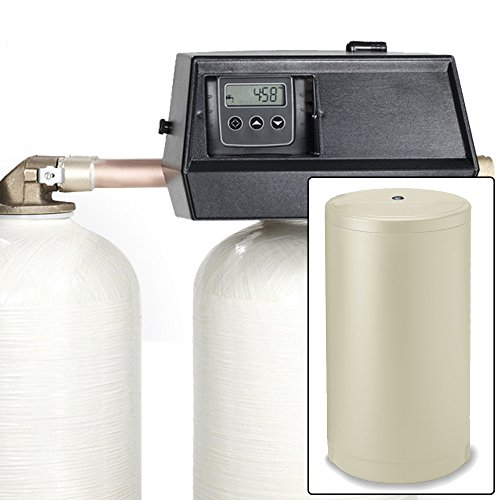 AFWFilters Built 48k Digital Dual Tank Alternating IRON PRO Water Softener with Fleck 9000SXT (3/4')