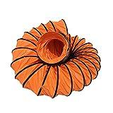 Conducto Flexible de PVC Ventilador, Manguera de Ventilación, Fuerte y resistente al desgaste, para Tunnel, ingegneria industriale e mineraria (ø 450mm/10m)