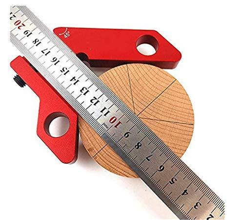 Acier Inoxydable  Angle Metric Ruler Carré Jauge De Niveau Combiné Ajustable