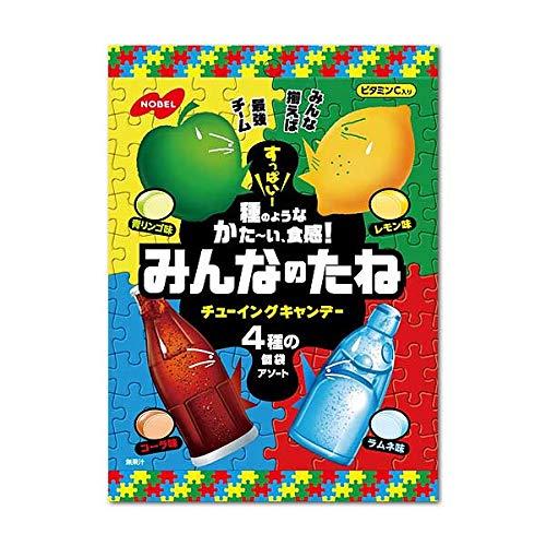 ノーベル みんなのたね ( 青りんご ・ レモン ・ コーラ ・ ソーダ ) 88g×4個