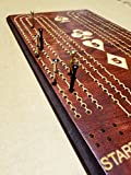 Large Peg Perfect Hand Cribbage Board
