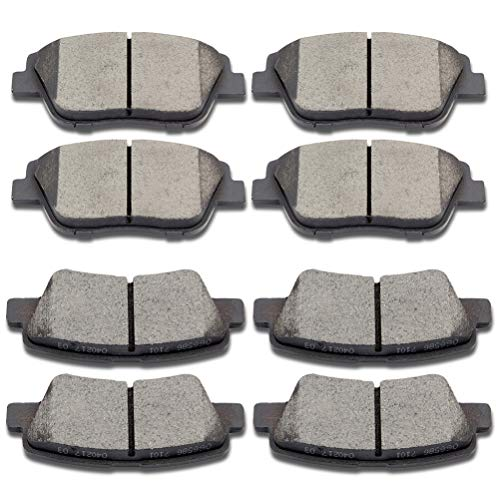 Premium Ceramic Disc Brake Pad FRONT Fits Hyundai Sonata KIA Opitma 2.4L KFE1444