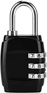 Diyeeni 8 Dígitos Combinación de Contraseña Candado Bloqueo de Código para Mochila Equipaje Combinación Código Candado Min...