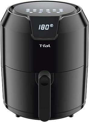 T-Fal EY4018MX Freidora sin aceite EASY FRY 4.2L con Panel Digital, Capacidad XL para 6 Personas. Programa para 8 menús y sistema innovador de canastilla antiadherente