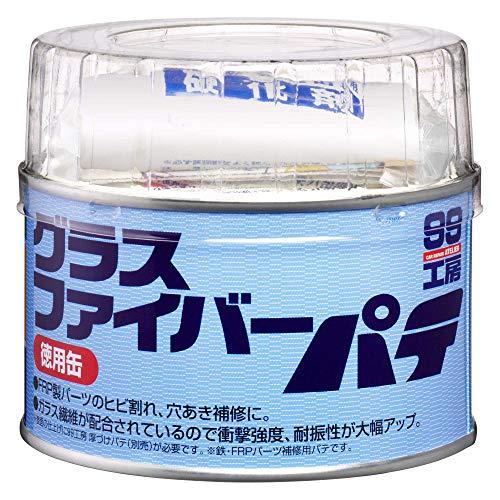 ソフト99(SOFT99) 補修用品 グラスファイバーパテ 徳用缶 400g 09179