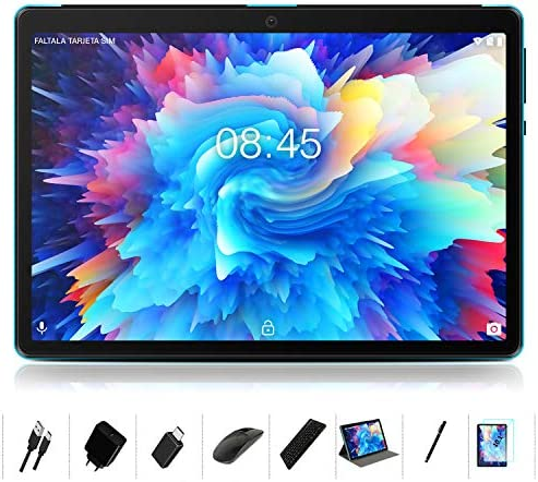 Android 10 0 Tablet MEBERRY 10 Ultra Fast 4GB RAM 64GB ROM Tablets 8000mAh Battery WiFi Support product image