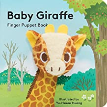 Baby Giraffe: Finger Puppet Book: (Finger Puppet Book for Toddlers and Babies, Baby Books for First Year, Animal Finger Puppets)