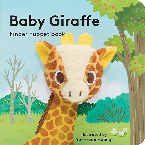 Baby Giraffe: Finger Puppet Book (Little Finger Puppet Board Books)