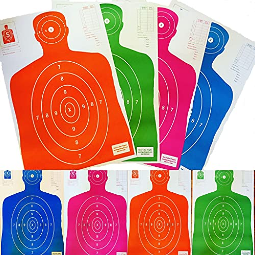 Son of A Gun Sight in Paper Shooting Targets, HIGH Shot...