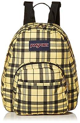 JanSport Half Pint Mini Backpack - Ideal Travel Day Bag, Throwback Plaid