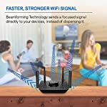 Linksys AC2200 Smart Mesh Wi-Fi Router for Home Mesh Networking, MU-MIMO Tri-Band Wireless Gigabit Mesh Router, Fast… 13 Provides up to 2,000 square feet of Wi-Fi coverage for 20+ wireless devices Works with existing modem, simple setup through Linksys App. Mobile device with Android 4.4 or iOS 9 and higher, Bluetooth preferred Enjoy 4K HD streaming, gaming and more in high quality without buffering