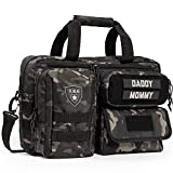 Tactical Baby Gear Deuce 2.0 Tactical Diaper Bag (Black Camo)