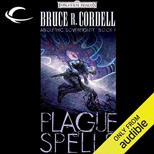Plague of Spells audiobook cover art