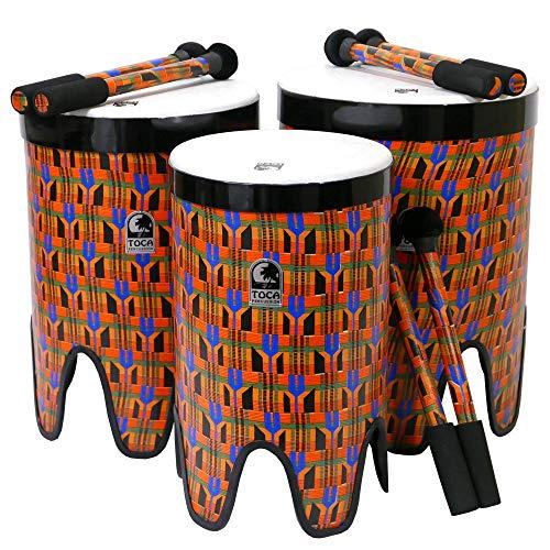 TOCA/トカ ネスティングタムタム TF2NT-3PCK☆1台でコンサートトムトムとフレームドラムの二刀流 3台セット