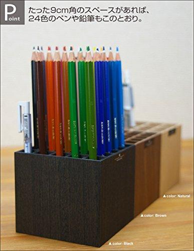 タツクラフトバスクペンスタンドS16本NAナチュラル個箱入仕様Boskペン立ておしゃれ人気便利木製かわいいペンホルダーペンケースぺんたて大容量シンプルスリムペンホルダーペンシルホルダー鉛筆立てこども鉛筆ホルダー木目木目調インテリア雑貨家具調木工品国産橋本達之助工芸TATSU-CRAFT日本製