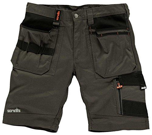 Scruffs Scruffs Herren Trade Shorts, Grau (Slate), 42 (Herstellergröße: 28)