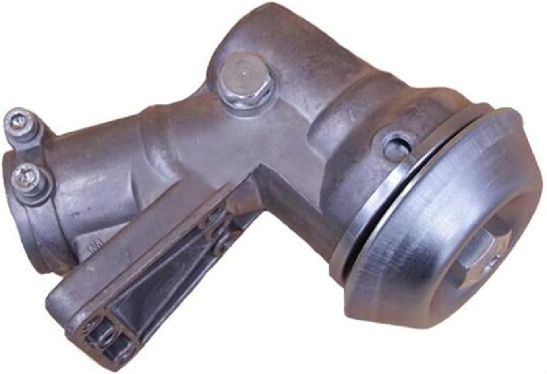 SSXPNJALQ 28mm 10T caja de engranajes caja de engranajes de trabajo cabeza recortadora desbrozadora ajuste para Oleo-Mac Dia SPARTA 36/37/38/43/44 Emark EM780 (Color: Plata)