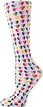 Cutieful Women's Nylon 8-15 Mmhg Compression Sock Sweetheart