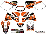 Team Racing Graphics kit Compatible with KTM 2001-2002 EXC, ANALOGComplete kit