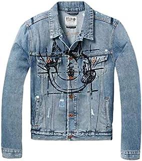 Scotch & Soda Félix Le Chat Bleu Men's Jeans Jacket Small