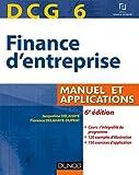 DCG 6 - Manuel et Applications