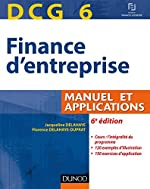 DCG 6 - Manuel et Applications de Jacqueline Delahaye