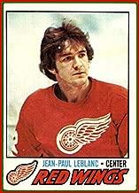1977-78 Topps #133 J.P. LeBlanc DETROIT RED WINGS Vintage Hockey Card Jean-Paul (ex)