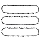 Hayskill Chainsaw Chain 18-inch .325 Pitch.063 Gauge, 68DL for Sthil MS250 MS251 021 025 MS230 Parts L68 Replacement Chain Saw Cutting Chain 3 Pack
