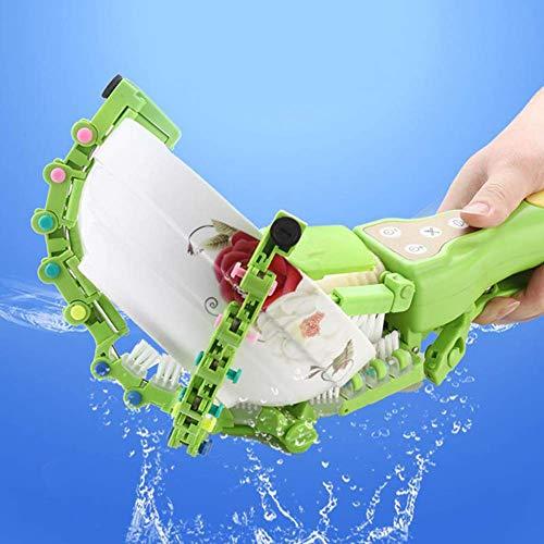 unknow Mini tragbarer Geschirrspüler Smart Handheld Geschirrspüler Automatischer Geschirrwäscher Tragbarer Küchengeschirrspüler Bürste Selbstbedienungsgeschirrspülmaschine (grün)