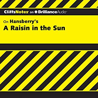 A Raisin in the Sun: CliffsNotes                   Written by:                                                                                                                                 Rosetta James B.A.                               Narrated by:                                                                                                                                 Kate Rudd                      Length: 2 hrs and 55 mins     Not rated yet     Overall 0.0