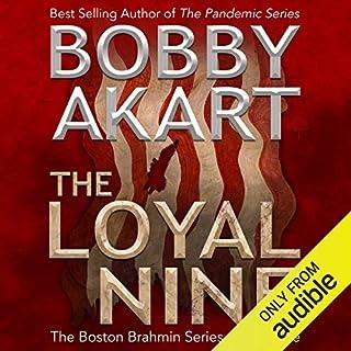 The Loyal Nine audiobook cover art