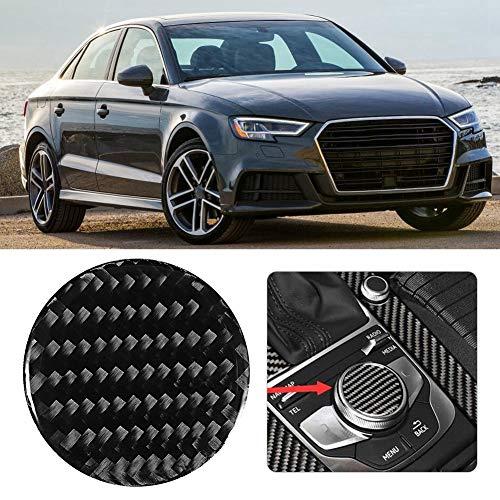Shanrya Adhesivo Automotriz, Accesorio Interior De Textura Suave, Adhesivo De Fibra De Carbono, Procesamiento De Superficies Finas, Diseño Autoadhesivo para A3 A4 8v 2014-2019 Auto