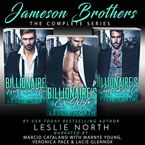 The Jameson Brothers audiobook cover art