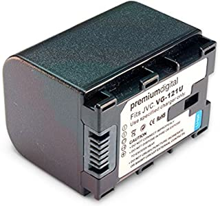 JVC Everio GZ-HD620-S Large Replacement Camcorder Battery...