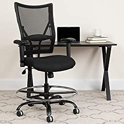 "Office Chair With 26"" High Seat"