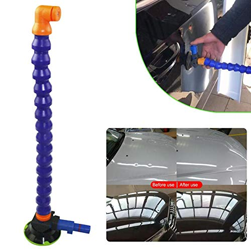 cheerfulus-1 18'' Advanced Flexible Air Pump Dent Repair - Car Dent Repair Suction Cup Tool,Dent Puller Hadle Lifter - Heavy Duty Lifting Dent Remover - No Damage to Paint