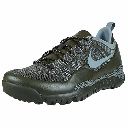 Zapatillas informales Nike Lupinek Flyknit Low Cargo color caqui / Mica Green...