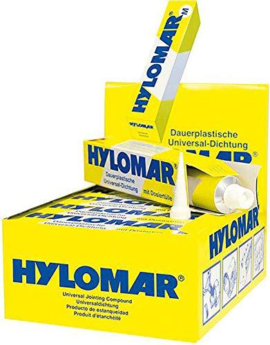 Hylomar Dichtmasse M - die dauerplastische Universaldichtmasse - 80ml Tube inkl. Dosiertülle
