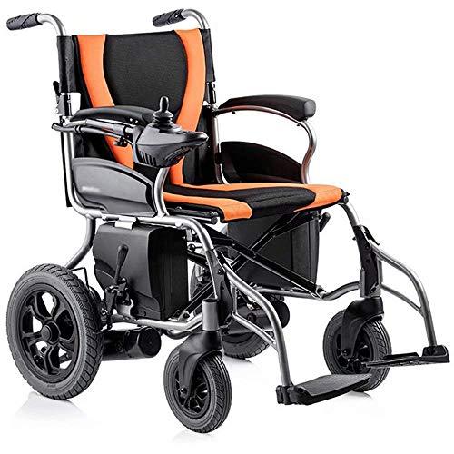 FTFTO Inicio Accesorios Ancianos Discapacitados Silla de Ruedas Eléctrica Plegable Plegable Seguro y fácil de Conducir Ancianos Discapacitados Automático Inteligente Scooter de Cuatro Ruedas