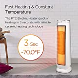 Photo #10: Pelonis Space Heater Ceramic Tower 1500W Indoor Space Heater with Oscillation