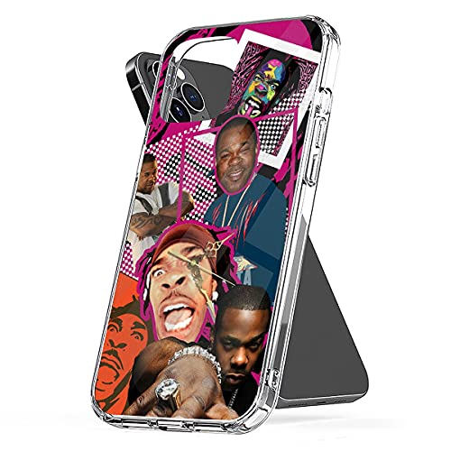 Custodia per telefono compatibile con iPhone 11 12/12 Pro Max Mini Busta 6/7/8/6s Plus Rhymes X/Xs Max Collage Case Cover